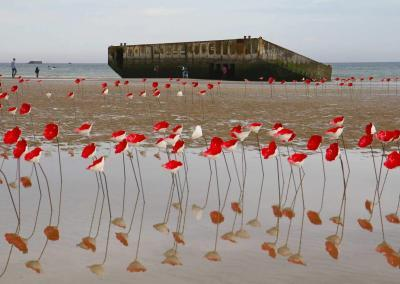 hotel-cheneviere-coeur-normandie-debarquement-port-artificiel-arromanches