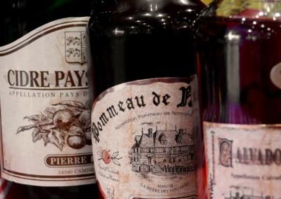 hotel-cheneviere-coeur-normandie-gastronomie-alcools